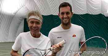 Sir Cliff Richard toasts to 80th birthday by playing tennis with Davis Cup champ - Mirror Online