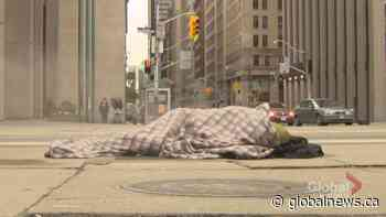 COVID-19 brings challenges for shelters trying to prevent homeless 'freezing to death in the snow'