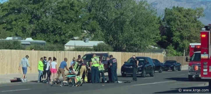 Bicyclist hit by suspected drunk driver survives crash