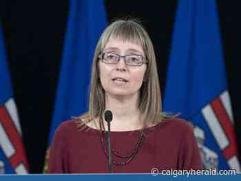 Calgary put on watch as Alberta reports 332 COVID-19 cases, sets hospitalization record - Calgary Herald