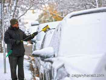Intense cold front, snow squalls expected in southern Alberta this afternoon - Calgary Herald
