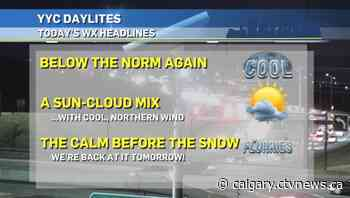 Calgary weather for Thursday, Oct. 15 - CTV Toronto