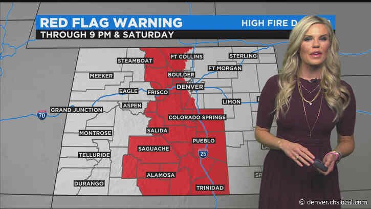 Denver Weather: High Fire Danger Continues With Gusty Wind