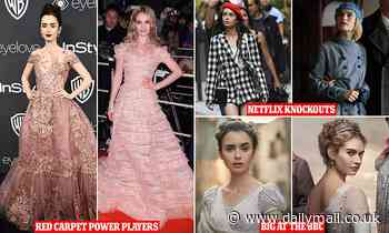 Lily Collins and Lily James's parallels are uncanny