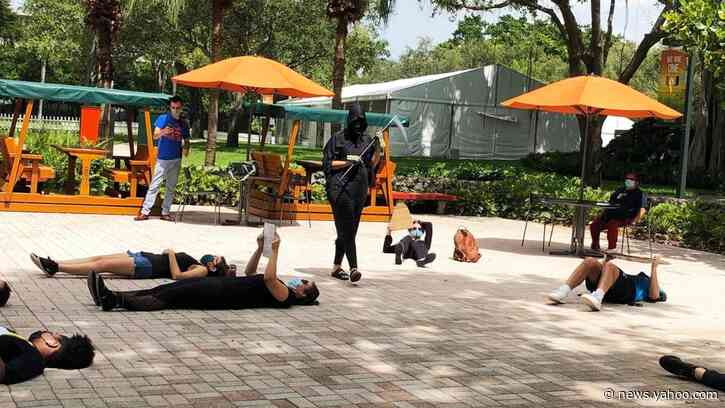 How Masked COVID-19 Protesters at the University of Miami Got Outed by Their College