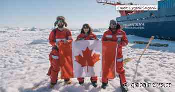 Former Albertan participates in international climate change research project