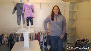 Norman Wells mom turns free kids clothing 'mini store' idea into reality - CBC.ca