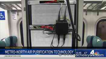 New Air Purification Measures Come to Metro-North Trains - NBC New York