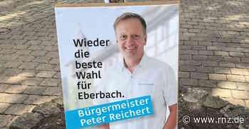 Bürgermeisterwahl Eberbach: Hier gibt's die Diskussion mit Amtsinhaber Peter Reichert (plus Video) - Rhein-Neckar Zeitung