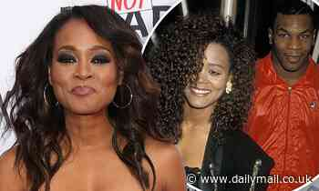 Robin Givens says news of Mike Tyson biopic reopened old wounds regarding the boxer's alleged abuse