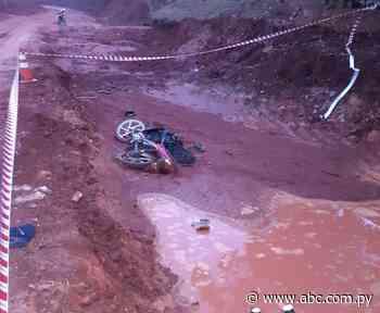 Motociclista fallece en camino vecinal que une Acahay-Quiindy - Nacionales - ABC Color