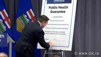Two-tier health care system policy resolution gets lukewarm response at UCP AGM