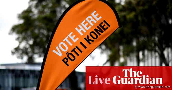 NZ election 2020: New Zealand voters choose between Jacinda Ardern and Judith Collins to lead nation - live