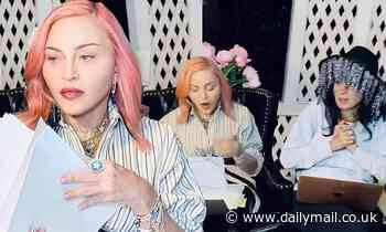 Madonna and Diablo Cody continue to work on the Madge's biopic from a gazebo hitting 133 pages