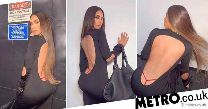 Kim Kardashian is bringing back the exposed thong as well as velour tracksuits and what did we do to deserve this
