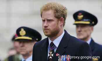 Prince Harry heartbreak as Duke 'cannot join' royal Remembrance service this year