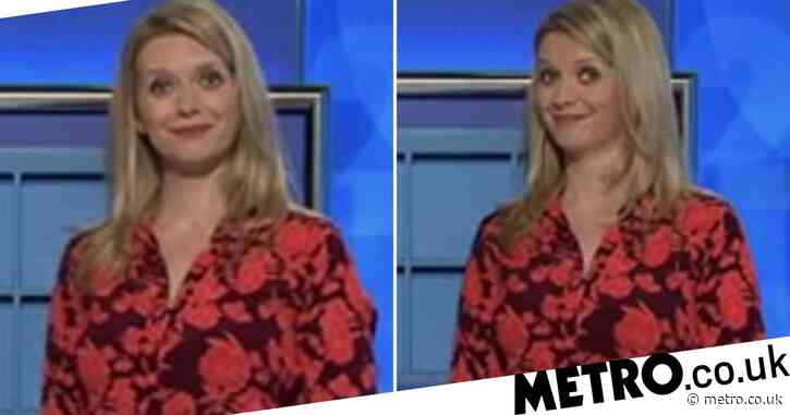 Rachel Riley's face is priceless at as 'blowie' is given as answer on Countdown