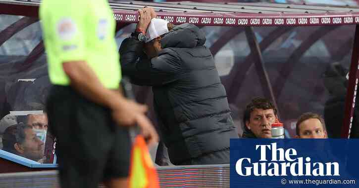 Liverpool's thrashing at Villa was like punch in the face, says Jürgen Klopp
