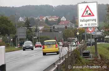 Burgkunstadt betroffen: Ab Montag bis Dezember Straßensperrung der B289 zwischen Lichtenfels und Kulmbach - inFranken.de