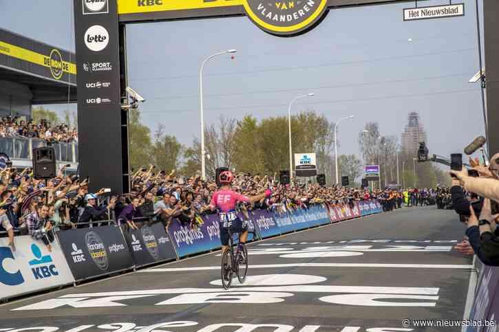 """Politie haalt zware middelen boven voor controles tijdens Ronde van Vlaanderen: """"Wie regels nu nog niet kent, krijgt zonder pardon een boete"""""""