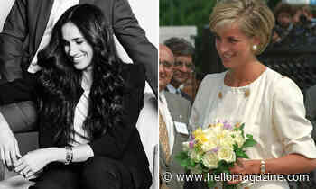 Meghan Markle's sweet nod to Princess Diana in stunning new portrait revealed