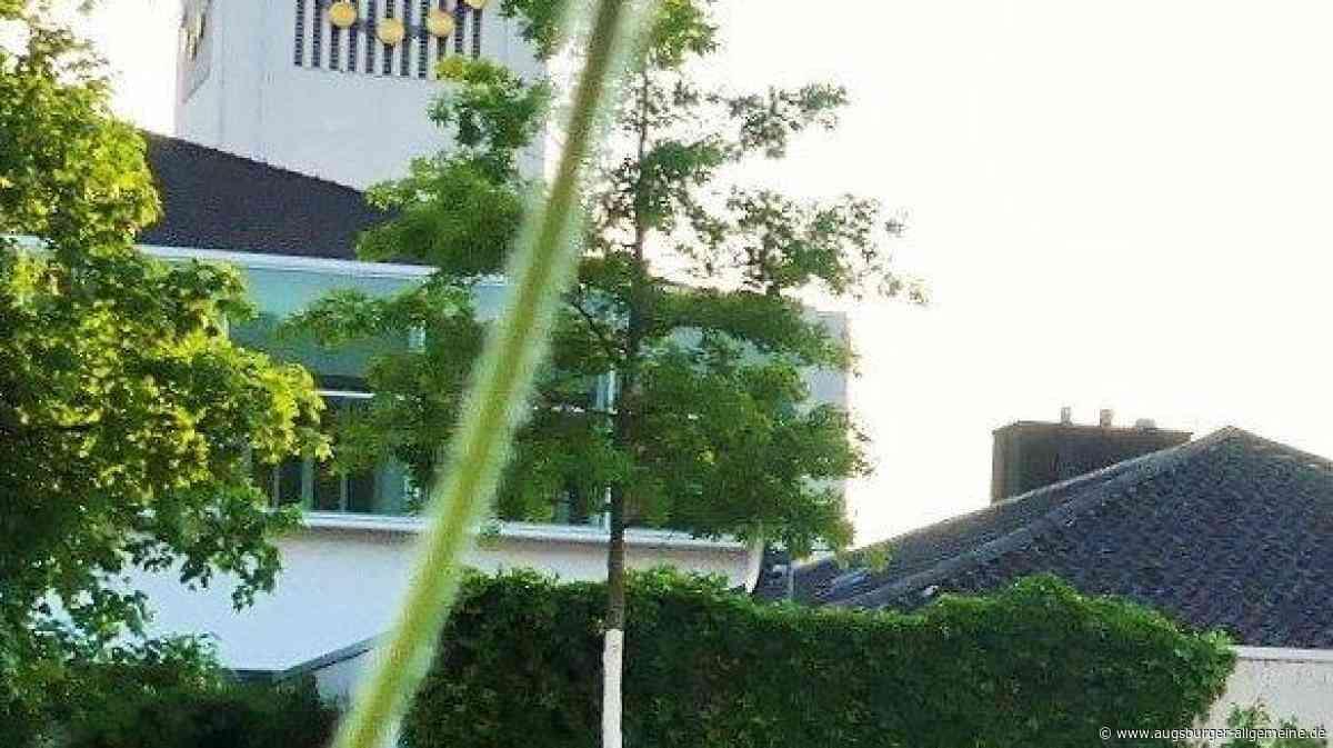 Unbekannter randaliert an Altenstadter Kirche - Augsburger Allgemeine