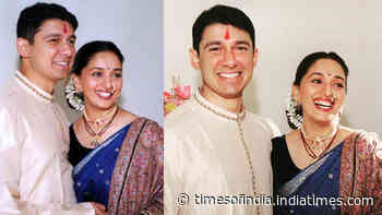 Madhuri Dixit and Sriram Nene's anniversary posts for each other will make you believe in a fairytale love story