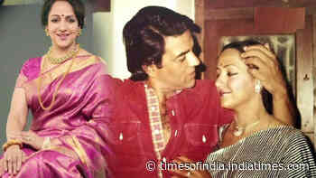 Hema Malini spills the beans about her 40 years of marriage with Dharmendra, says 'didn't get enough time with him'