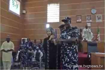 Borno Assembly presents award to former SARS commander - - TVC News