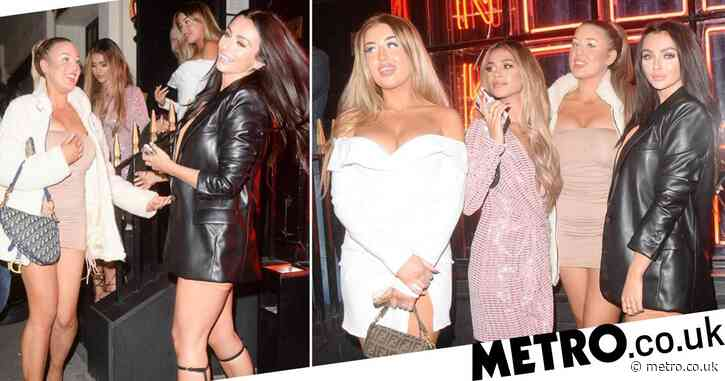 Love Island stars enjoy final night out before London is plunged into lockdown