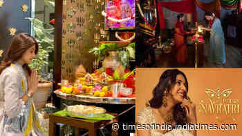 Navratri 2020: Amitabh Bachchan, Shilpa Shetty Kundra, Kangana Ranaut, Raveena Tandon, Rakul Preet Singh among other Bollywood stars wish fans