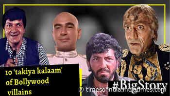 #BigStory: 10 'takiya kalaam' of Bollywood villains that still send shives down the spine
