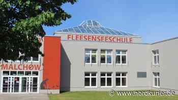 Corona-Fall an der Malchower Fleesensee-Schule - Nordkurier