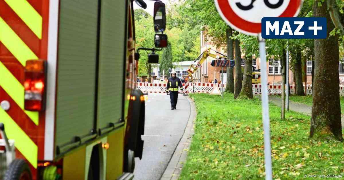Pritzwalk: Gasleitung bei Bauarbeiten am Postplatz beschädigt - Märkische Allgemeine Zeitung