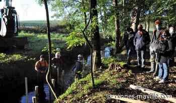 Pays de Chateaugiron. Ils veulent redonner son cours d'eau d'antan à la rivière - maville.com
