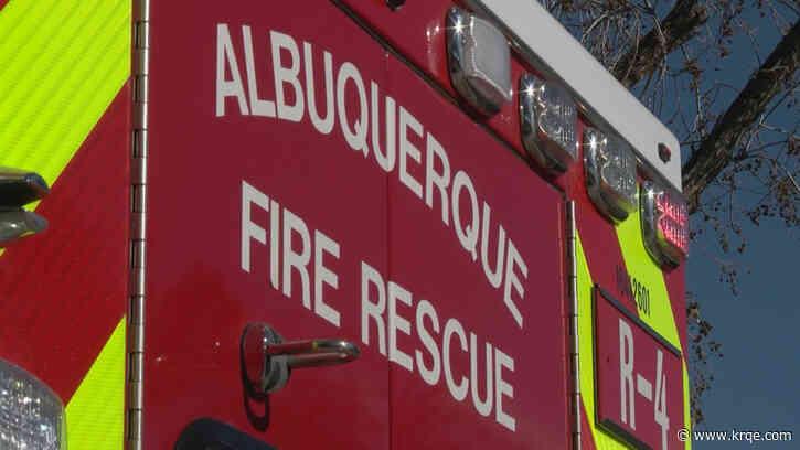 Crews respond to apartment fire in NE Albuquerque