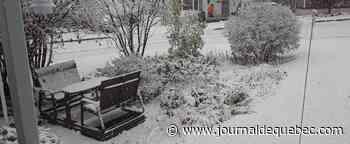 [IMAGES] Déjà la neige en Chaudière-Appalaches!