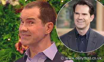 Jimmy Carr details his lockdown transformation after splashing out on a hair transplant