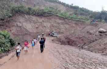 Vía Cuñumbuque-San José de Sisa está en estado crítico: - DIARIO AHORA