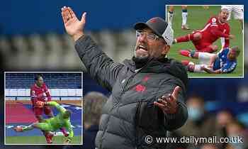 Jurgen Klopp fears major double injury blow for Liverpool after horror tackles in Merseyside derby
