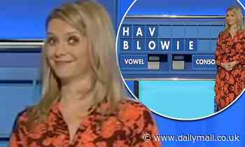 Rachel Riley's face is priceless as a very cheeky word is spelled out on Countdown
