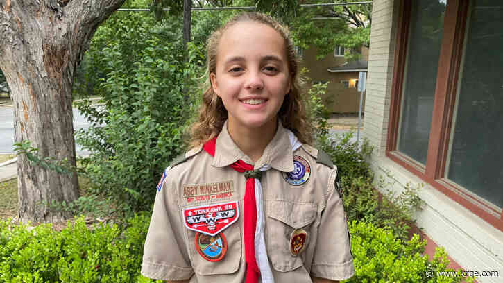 Texas teen becomes one of first female Eagle Scouts in nation
