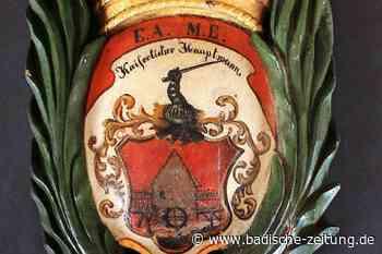 Ein altes Wappen aus Grenzach-Wyhlen erhält eine Frischzellenkur - Grenzach-Wyhlen - Badische Zeitung