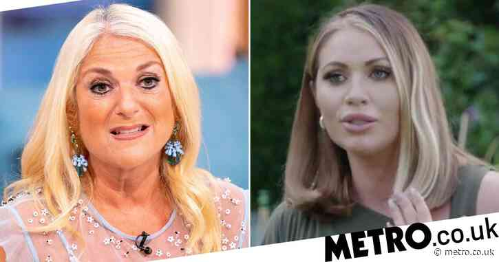 Towie's Amy Childs gets Vanessa Feltz's name wrong as she takes elocution lessons