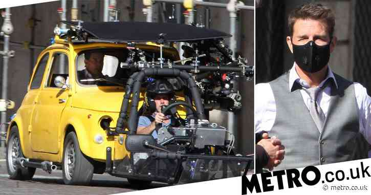 Tom Cruise and Hayley Atwell have a need for speed as they film car scene for Mission: Impossible 7