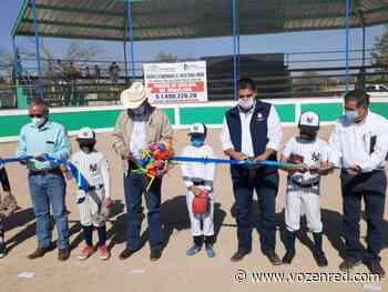 Gestiona René Frías parque de beisbol infantil en La Cruz - voz en red