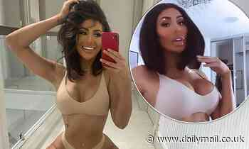 Geordie Shore's Chloe Ferry debuts her stunning transformation in a brunette wig