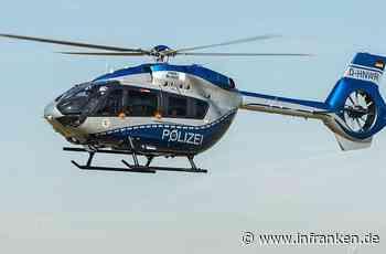 A3 bei Helmstadt: Audi-Fahrer verschwindet nach schwerem Unfall spurlos - Hubschrauber im Einsatz - inFranken.de