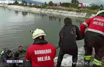 Tío y sobrino murieron ahogados en reservorio de agua en Machachi - tvc.com.ec
