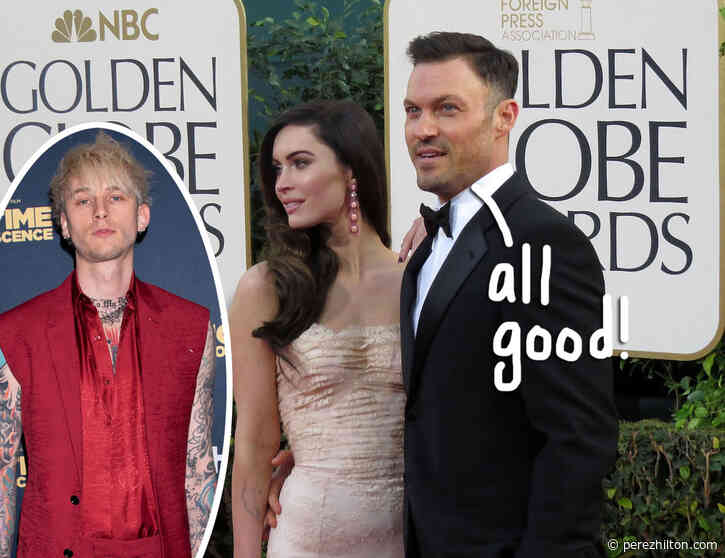 Brian Austin Green Is FINALLY 'Totally Cool' With Megan Fox & Machine Gun Kelly's Relationship